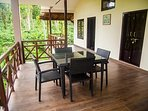 A private area to relax with friends or family