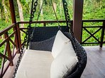 Relax on the swing with your friends/loved ones