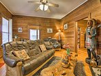 Up to 8 guests will adore this charming home.