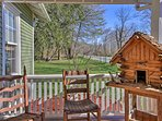 Enjoy your morning coffee on the porch!
