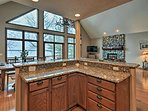 Generous counter space will make cooking a breeze!