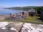 View from Culzean castle
