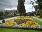 Beautiful gardens in Forres.