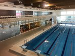 The municipal pool and fitness centre at Vilamoura