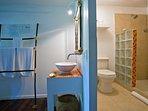 Baño Habitacion Azul