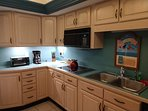 Fully stocked kitchen with all.comforts of home