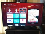 Widescreen with Roku and ability to use your Netflix