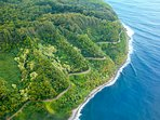 Drive one of the world's most scenic drives – The Road to Hana.