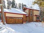 Quicksilver Cabin winter exterior