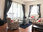 2nd floor living room - patio aspect