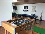 Games - table football, TV, Darts