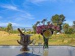 enjoy a cool drink on the verandah