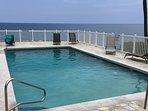 ocean front complex pool!