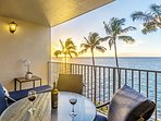 Year - round epic Maui sunsets from your private lanai (Hawaiian for patio).