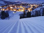 Deer Valley is know for the finest groomed trails in the world!