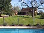 Bienvenue au Petit Verger and its romantic, ancient stone farmhouse and private pool.