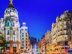 Centro de Madrid, a 35 min del apartamento.