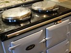 Electric Aga- there are instructions to help you prepare the perfect cooked breakfast!