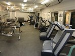 Stay active on your holiday and use the fully-equipped and updated fitness centre.