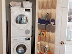 Clothes washer and dryer closet !