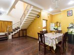 Beautiful indoors with 5 Bedrooms. A fully functional kitchen and a great cook at home.