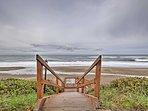 Walk to the beach for a stroll along the coast.