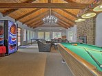 Endless entertainment awaits in the game room!