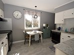 Light filled kitchen with breakfast nook