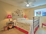 Drift off to dreamland in bedroom 1 with a queen bed.
