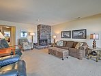 Enjoy movie nights in the living room on the flat-screen cable TV.