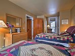 Complete with 2 twin beds, the second bedroom is ideal for kids.