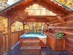 Hot Tub at Hidden Pleasure
