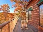 Deck at Hidden Pleasure