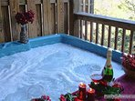 Lower Level Hot Tub at Precious View