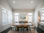 Spacious and bright dining area for family gatherings