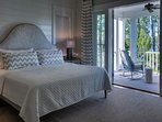 One of Four Fabulous King Suites on Second Floor with Western Lake Views