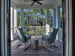 Private Balcony With Serene Views Ideal for Morning Coffee