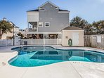 You'll have access to the community saltwater pool and will be a short walk or drive from the beach, pier, bars and...