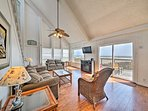 From the floors to the vaulted ceiling, you will fall in love with this property.