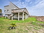 This house is in the perfect location to explore Galveston.