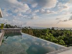 Shades of Blue - tropical chic sea view villa