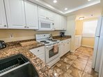 Spacious and Renovated Kitchen with Granite & New Appliances