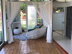 Casita Tropical Dining and Living