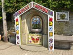 Well Dressing - an annual event in Bollington