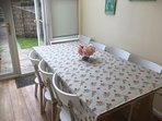 Conservatory kitchen - seats 8