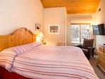 Snowcreek #630 (Phase 4) - Master bedroom King bed