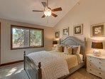 Tahoe Woods Penthouse - Bedroom 2 Queen Bed