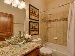 Tahoe Woods Penthouse - Bathroom 3 shower/tub combo