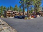 Tahoe Woods Penthouse - Complex parking