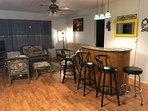 Living Room and Bar Station